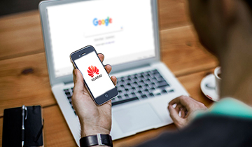 Google contra Huawei: la guerra de los mundos