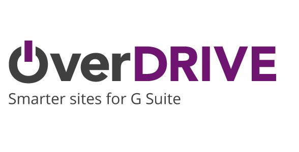 OverDRIVE. Constructor de portales para G suite