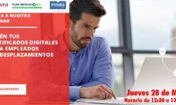 Obtén tus certificados digitales para empleados sin desplazamientos