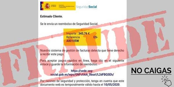 El timo del reembolso de la Seguridad Social se dispara en España