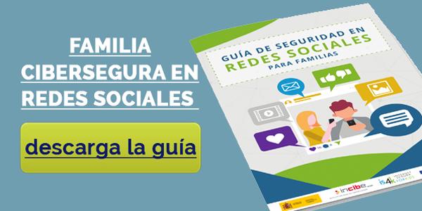 Familia Cibersegura en Redes Sociales