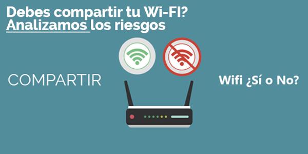 ¿Debes compartir tu wifi? Analizamos los riesgos