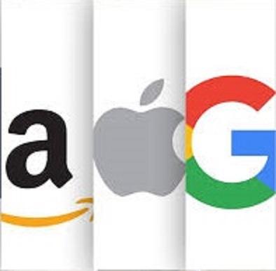 amazon, google y apple naming