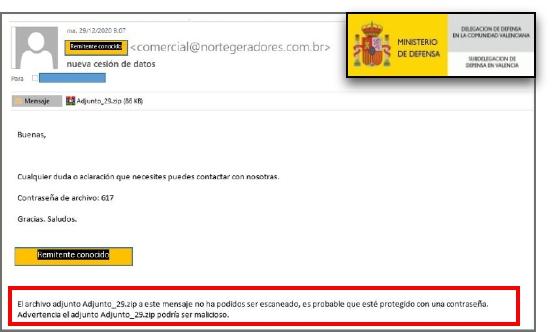 Boletín especial-Campañas de phishing: suplantando direcciones de correo conocidas